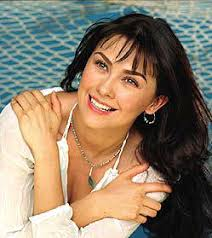 """Aracely Arámbula got her fame all over the world after acting Maria del Carmen in """"Abrázame Muy ... - aracely"""