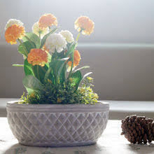 Online Shop <b>Concrete flower pot</b> mold relief <b>geometry</b> cherry ...