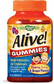 Buy Nature'S Way - <b>Alive Gummies Multi-Vitamin For</b> Children ...