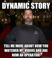 DYNAMIC STORY TELL ME MORE ABOUT HOW YOU WATCHED MY VIDEOS AND ARE ... via Relatably.com
