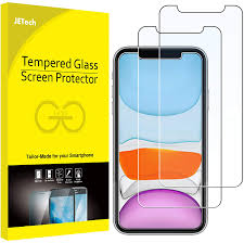 JETech Screen Protector for iPhone 11 and iPhone XR 6.1-Inch ...