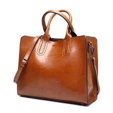 ACELURE Leather <b>Handbags Big Women Bag</b> High Quality Casual ...