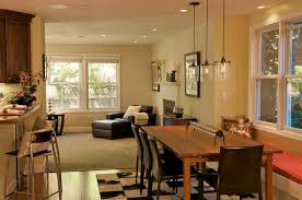 size dining room contemporary counter: dining room modern black metal base counter kitchen dinette recessed lighting room granite table top