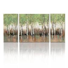 wall art print birch