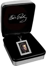 <b>Elvis Presley Colour</b> Picture Pendant - Hallmarked Silver: Amazon ...