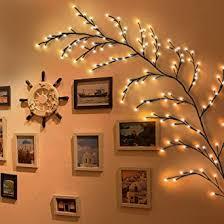 Twig Lights <b>Indoor</b> Tree Vine Lights 144 <b>LED Decorative</b> Christmas ...