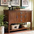 Mission-style-entertainment-center on Bassett Furniture