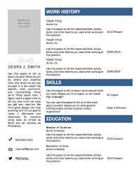 free easy resume builder  c c co  easy resume builder