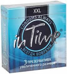 Ин тайм <b>презервативы увеличенного размера</b> xxl 3 шт. купить по ...