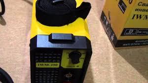 <b>Сварочный аппарат инверторный</b> EUROLUX <b>IWM-250</b> - YouTube