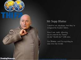 All the best Sepp Blatter/corrupt FIFA cartoons, photoshops ... via Relatably.com