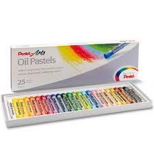 """<b>Пастель масляная Pentel</b> """"Oil Pastels"""", 25 цветов. Купить ..."""