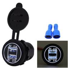 5V 2.1A Dual USB Charger Socket Adapter Power Outlet for ... - Vova