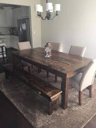 7ft dining table: for sale rustic farm style wood dining table furniture this is a ft by