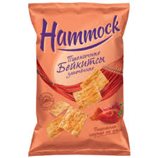 Снэки <b>Бейкитсы Hammock</b> - <b>Пикантная паприка</b> на гриле ...