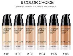 <b>SACE LADY Matte</b> Finish Liquid Foundation, Waterproof Ultra-HD ...