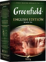 <b>Черный чай</b> листовой <b>Greenfield English</b> Edition, 100 г — купить в ...