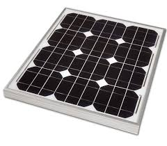 <b>12v 20w Solar Panel</b> Monocrystalline 435x356. Fully Weatherproof