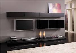 living room black furniture