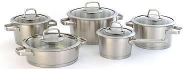 "<b>Набор</b> посуды <b>BergHOFF</b> ""Manhattan"", с крышками, 10 предметов ..."