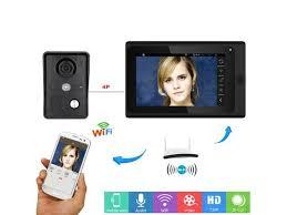 <b>7inch Wireless/Wired Wifi</b> IP Video Door Phone Doorbell Intercom ...