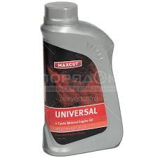 <b>Масло</b> для садовой техники <b>Maxcut 2T</b> Universal, 1 л: отзывы ...