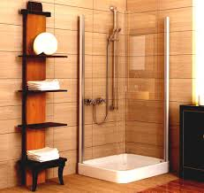 astounding bathroom design designs ideas mesmerizing shelving units feats sustainable oak with corner shower space and tall open cabinet wooden floor astounding small bathrooms ideas astounding bathroom