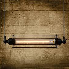 Meigar <b>Vintage Flute</b> Pendant Ceiling Light,<b>Black</b> Industrial <b>Retro</b> ...