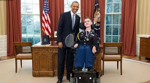 student with disabilities offers patriotic proposal to president barack obama oval office