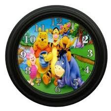 Винни Пух настенные <b>часы</b> для детской комнаты декор ...