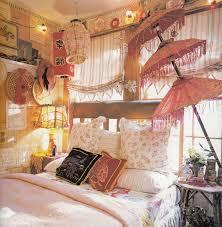 apartment cozy bedroom design:  bohemian bedroom bedroom bohemian bedroom design with pink cozy bed and dark with regard to