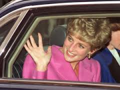 Image result for caricature of Princess Diana smiling