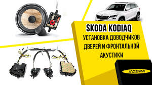 <b>Skoda</b> Kodiaq. Установка <b>доводчиков дверей</b>, замена штатной ...