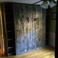 murphy bed reclaimed closed awesome murphy bed office