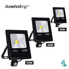 Motion Sensor <b>LED floodlight</b> 10 W 30 W 50 W 220 V <b>floodlight</b> ...