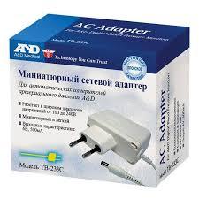 <b>Адаптер сетевой для</b> тонометра A&D (Эй энд Ди) ТВ-233С ...