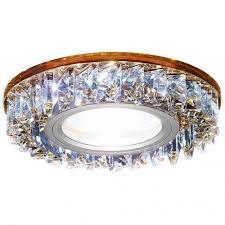 Встраиваемый <b>светильник Ambrella light</b> Led <b>S255</b> BR: купить за ...