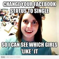 Overly Attached Girlfriend on Pinterest | Creepy Meme, Carly Rae ... via Relatably.com