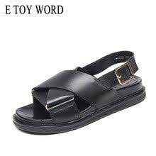 Good Offer of <b>E TOY WORD Women</b> Sandals 2019 New cross ...