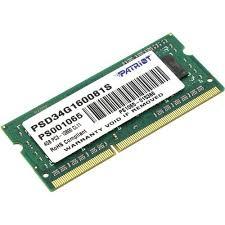<b>Модуль памяти</b> Patriot <b>SO-DIMM</b> DDR3 DIMM 4 Гб PC3-12800 1 ...