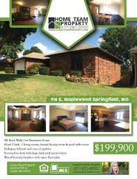 home team property flyer radial design group home team property flyer