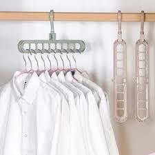 Multifunctional folding 9 hole plastic hanger bathroom drying ... - Vova