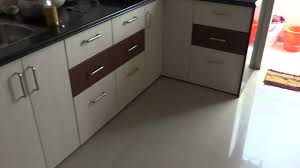 modular kitchen colors: modular kitchen in gorwa area in double colour combination ritesh boghani  baroda city youtube