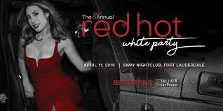 8th Annual Red <b>Hot</b> White Party | Deliver the <b>Dream</b>