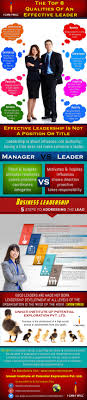 the top qualities of an effective leader ly the top 8 qualities of an effective leader infographic