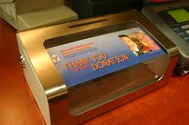 mcdonald s a ronald mcdonald house collection box in framingham massachusetts