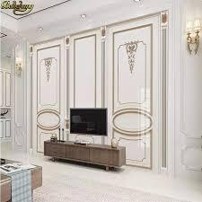 <b>beibehang</b> Custom <b>European</b> white plaster carving wall panel ...