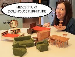 midcentury dollhouse furniture build dollhouse furniture