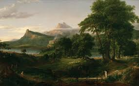 Thomas Cole              Biography and Artworks   Trivium Art History Trivium Art History The Course of Empire    The Pastoral State