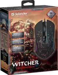 <b>Мышь</b> игровая <b>Defender Witcher</b> GM-990 RGB,7кнопок,3200dpi ...